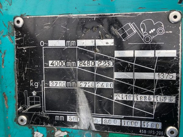 Komatsu FG30HT-12 Sn. 534577